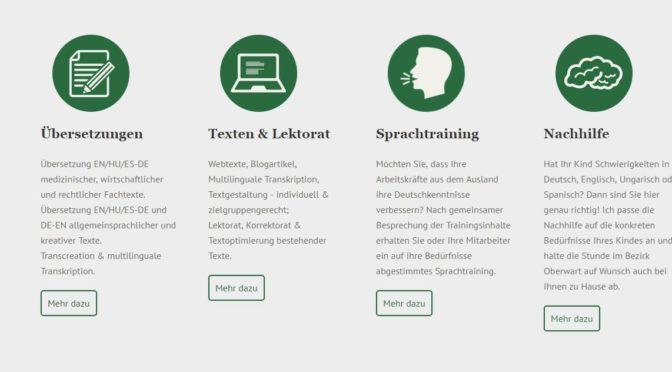 Professionelle Übersetzungen in Wien/Burgenland – Katharina Kollmann